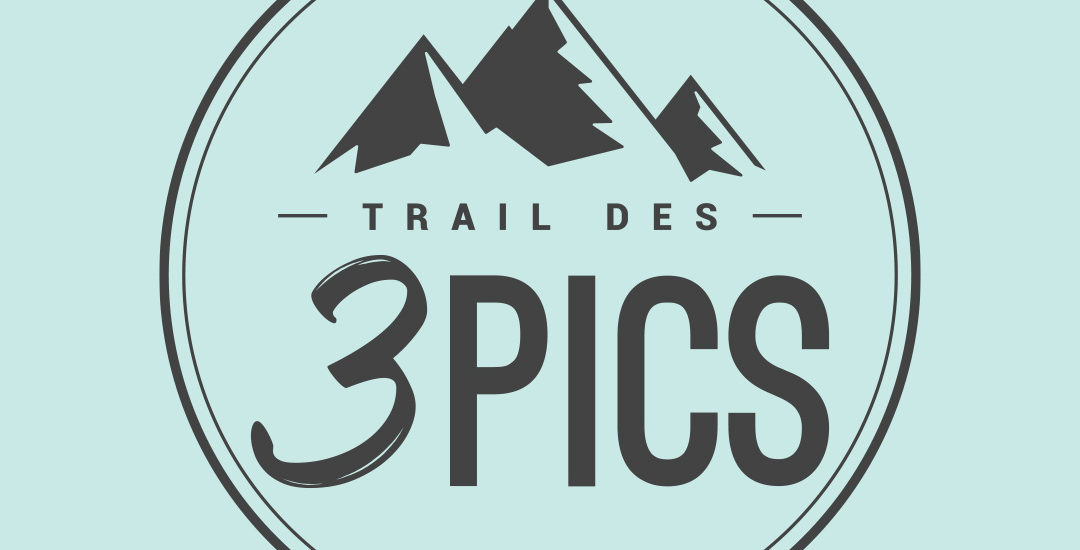 Création de logo du Trail des 3 Pics, Arbas, Pyrénées
