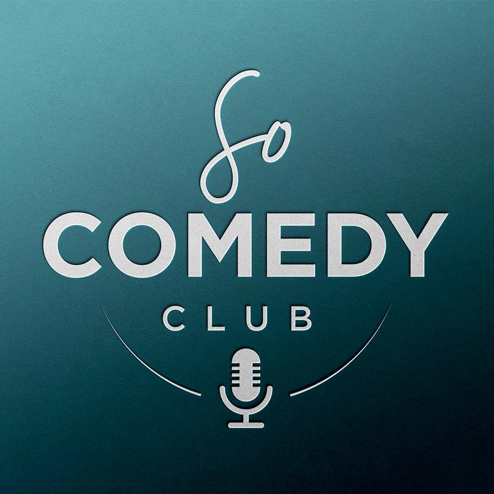 logo so comedy club, espace de stand up toulousain